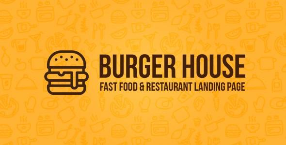 Best Fast Food & Restaurant Landing page