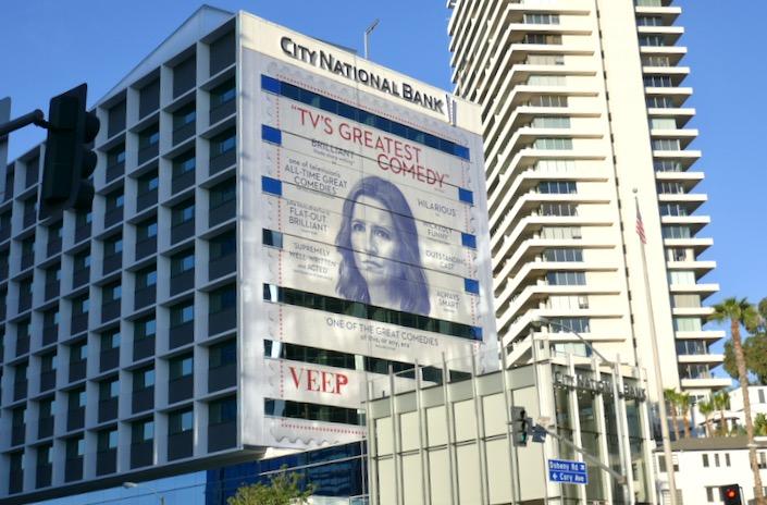 Giant Veep season 7 HBO FYC billboard