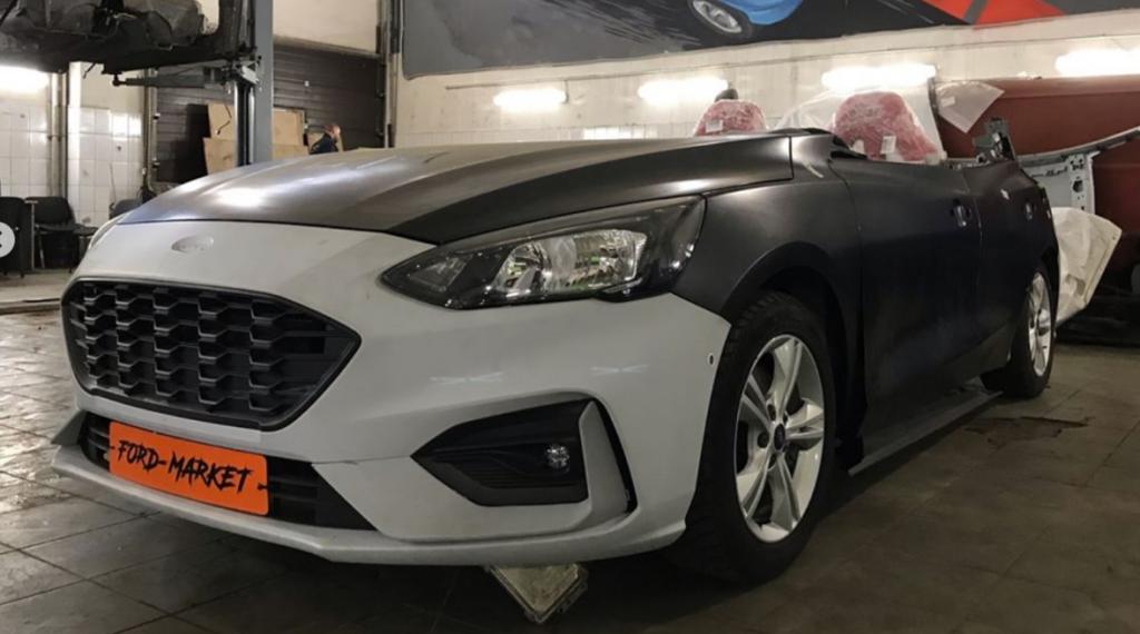 Ford Focus độ thiết kế mui trần, chỉ có 1 chiếc duy nhất