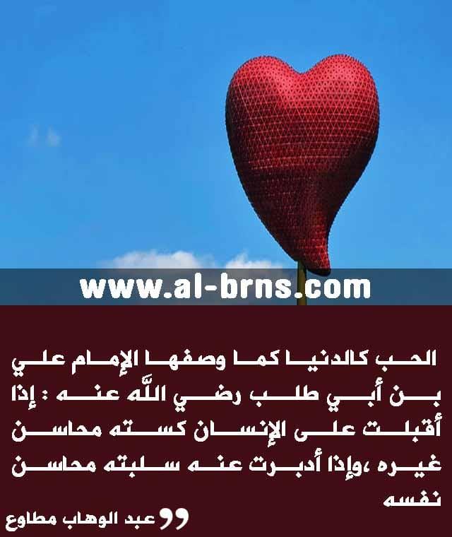اقتباسات عن الحب والعشق والغرام والرومانسية للكبار