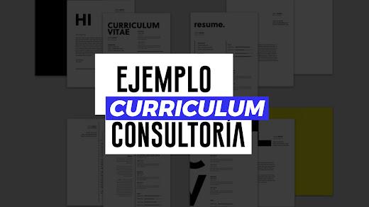 Muestra de CV de consultoría