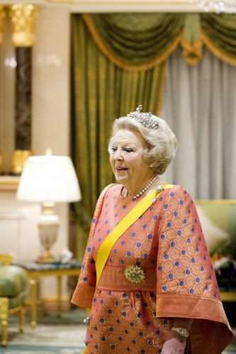 ROYAL COUTUREQueen Beatrix Princess Maxima of the