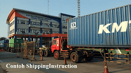Contoh shipping instruction import 2020