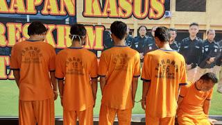 Polresta Cirebon Bekuk Empat Pelaku Pemerkosaan Gadis di Bawah Umur