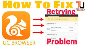 Uc Browser Download Retrying error