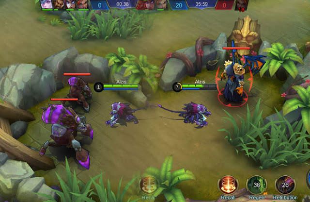 Monster dengan Ability Buff Mobile Legends