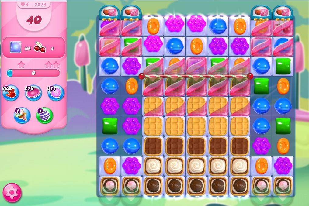 Candy Crush Saga level 7514