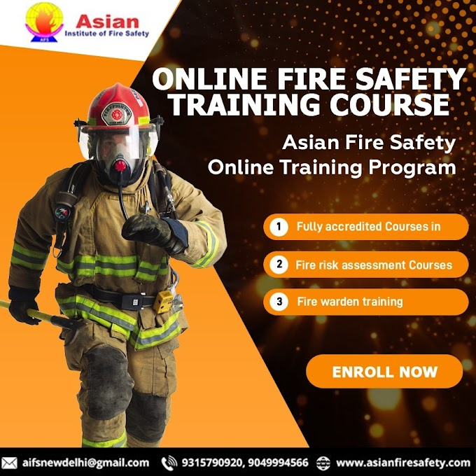 Online Fire Safety Course – a Better Career Opportunity after 10+2