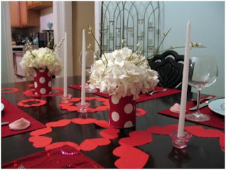 Centerpieces for Valentine's Day
