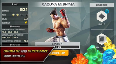 Tekken Android v1.3 Mod Apk [Update 2018] for Android