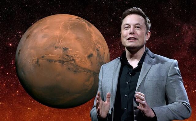 إيلون ماسك والكوكب الأحمر