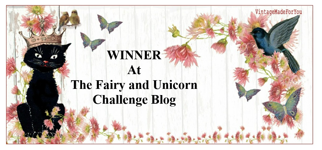 Winner at  The Fairy and the Unicorn Oct 2018 Challenge