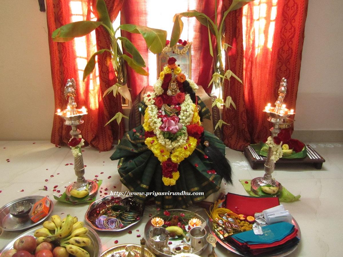 Priya S Virundhu Varalakshmi Vratham Varalakshmi Nombu
