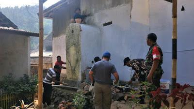 Hari Ke-21 Satgas TMMD Rampungkan Renovasi Musholla