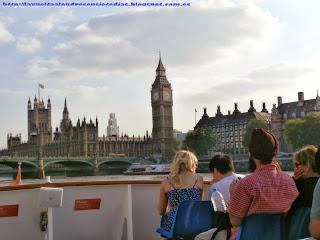 Parlamento y Big Ben desde el crucero del Támesis