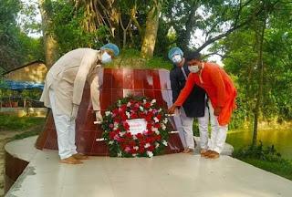 কুমিল্লার মুরাদনগরেজাতীয় কবি কাজী নজরুলের ১২১তম জন্মবার্ষিকী পালন ভিন্নভাবে