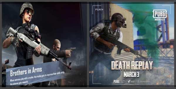 fitur baru pubg mobile death replays dan brothers in arms