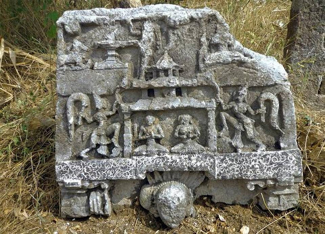 14th century stone inscription found in India