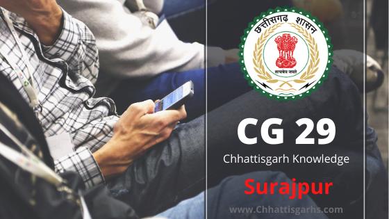 Surajpur District CG 29