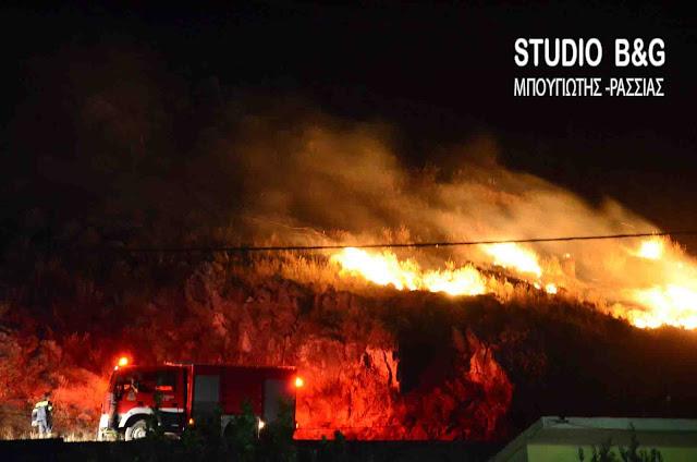 Σε εξέλιξη ακόμα μια φωτιά στην Ζάκυνθο - Υψηλός κίνδυνος πυρκαγιάς και στην Αργολίδα