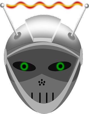 A robot's head.