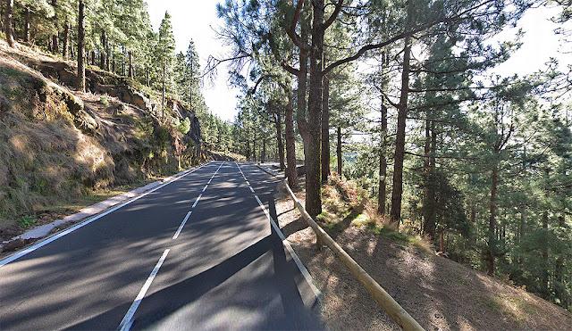 Road to Teide mountain