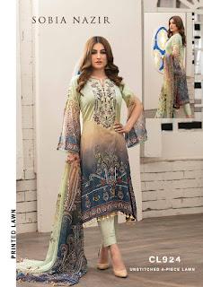 Sobia Nazir Luxury Lawn Cotton pakistani Suits
