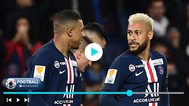 Paris Saint Germain vs Saint Étienne Highlights