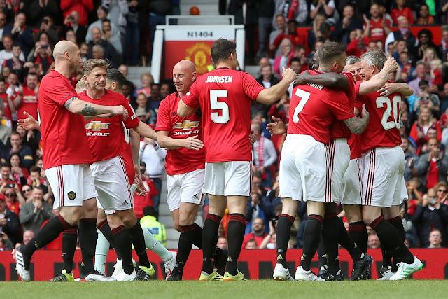 Treble99 Manchester United Legends 5 - 0 Bayern Munich Legends