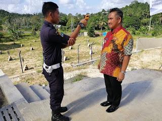 Wali Kota Tarakan Mengikuti Serangkaian Prosedur Yang Diterapkan Dalam Rangka Pencegahan COVID-19 - Tarakan Info