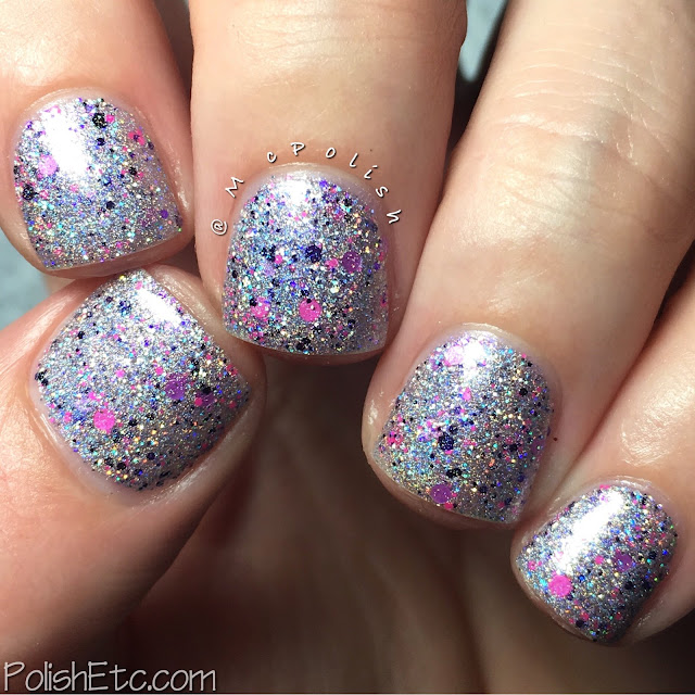 Glam Polish - Friendship is Sparkly Trio Part 2 - McPolish- Lunar Eclipse