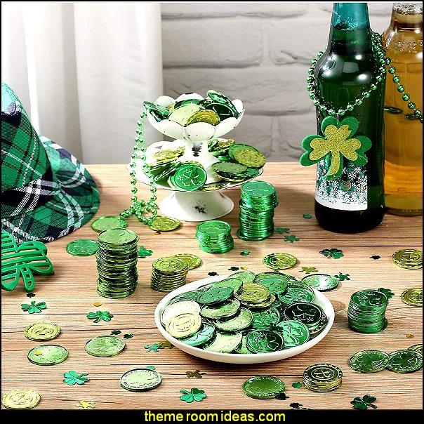 st pats party decorations st patricks party irish shamrock party decor