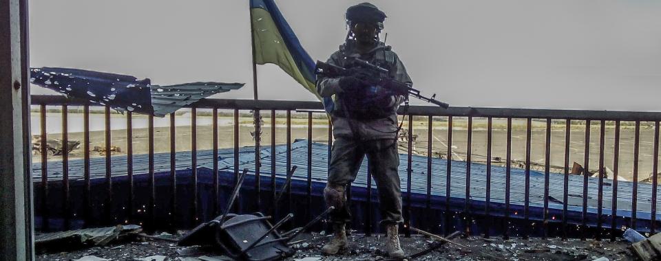 Воїн 3-го Окремого полку спеціального призначення Бугор