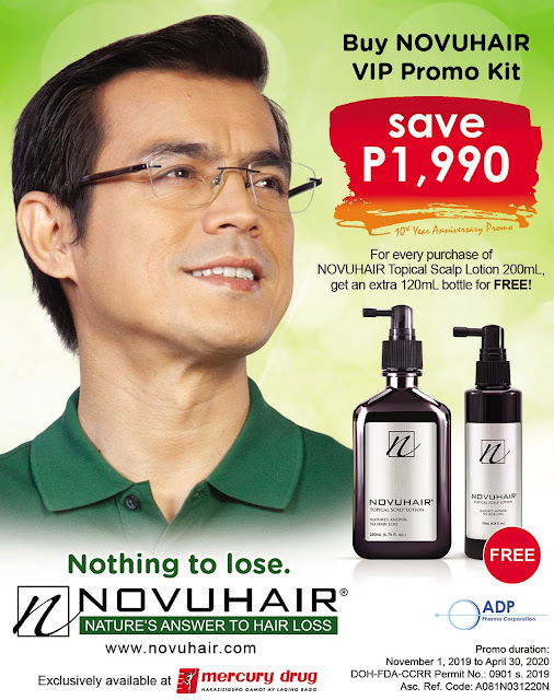 Novuhair Features Mayor Isko