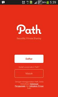 daftar path