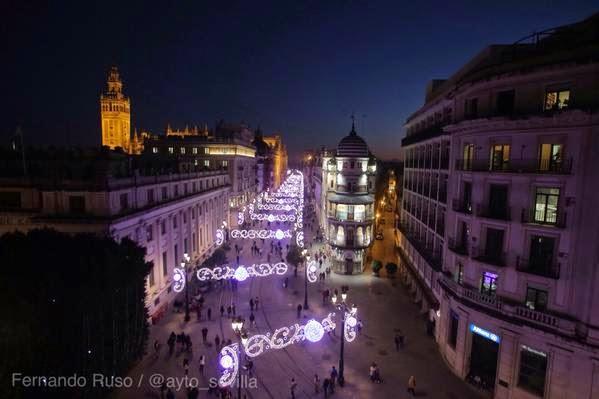 Geln Noticias Inaugurada la iluminacin de Navidad en