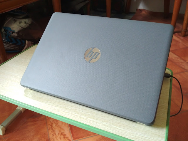 Review Pemakaian Laptop HP 14-BW017AU Gray Color