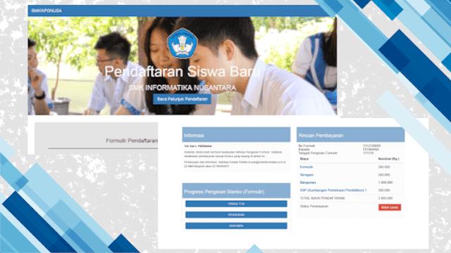 Sistem Pendaftaran Siswa Baru Sekolah SMK Online (PPDB)