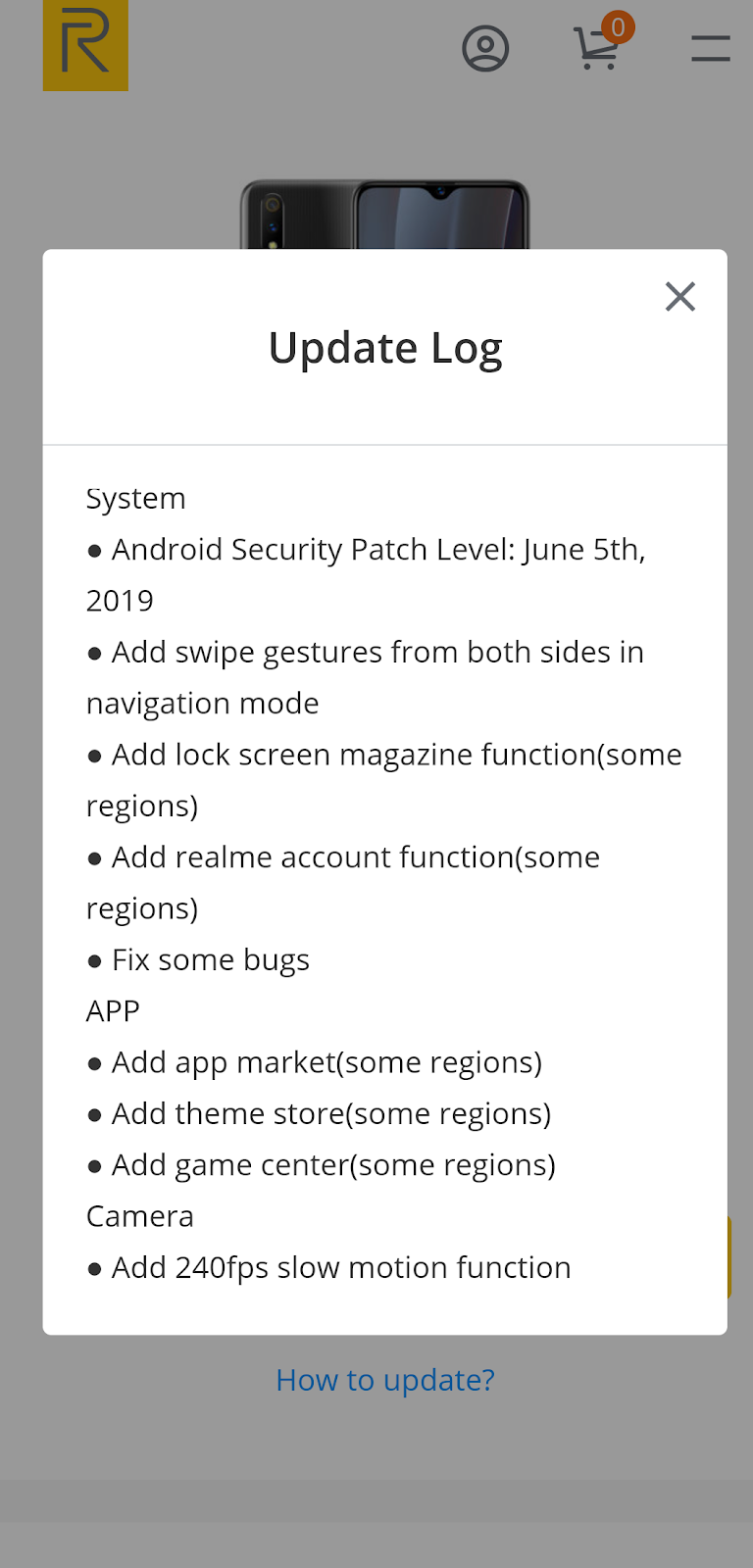 Realme 3 Pro Latest Update | Official Theme Store | App