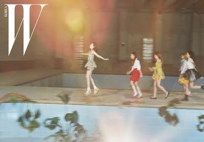 Red Velvet W Magazine March 2016