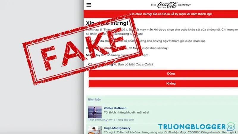 """Cảnh giác link giả mang tên """"Quỹ phúc lợi Coca-Cola"""" trên Facebook khiến bạn mất tài khoản"""