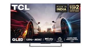 TCL C728 4K UHD smartTV price in India