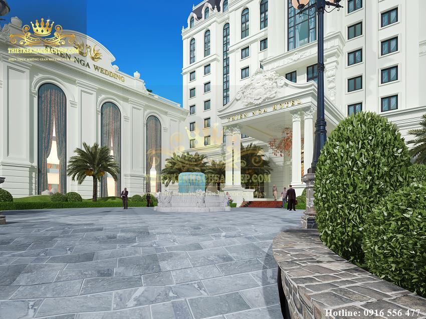 Hình ảnh: THIÊN NGA HOTEL - mảng kinh doanh thú vị của tổ hợp thiết kế khách sạn nhà hàng 4 sao