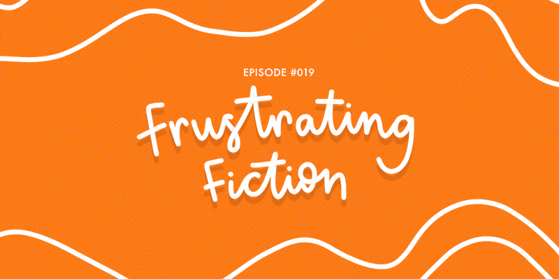 Episode 19 of Rants and Reviews is all about the books we found incredibly disappointing. Featuring The Maze Runner Series, Labyrinth, Magonia, and My Fat Mad Teenage Diary. [podcast artwork - lettering Frustrating Fiction]
