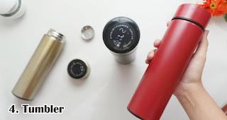 Tumbler merupakan salah satu rekomendasi souvenir kece di awal tahun