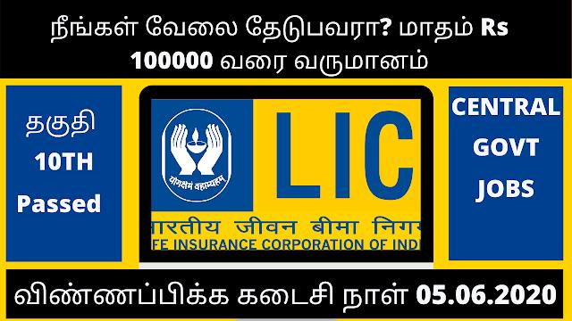 LIC Vacancy 2020