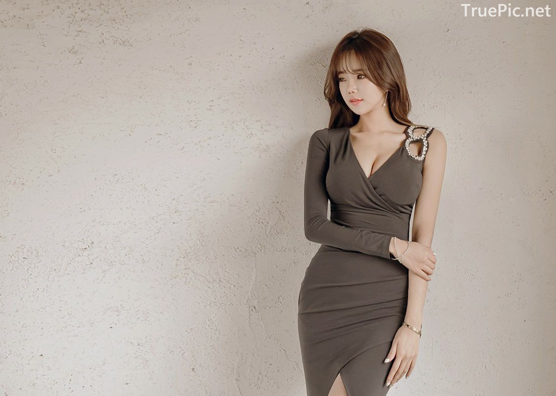 Korean Fashion Model - Kang Eun Wook - Indoor Photoshoot Collection - TruePic.net - Picture 5