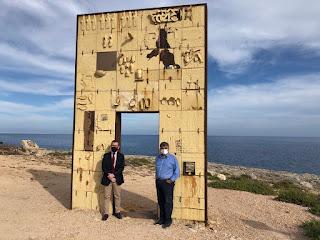 """Visita del Ministro Provenzano a Lampedusa """"A Lampedusa per portare la vicinanza delle istituzioni"""