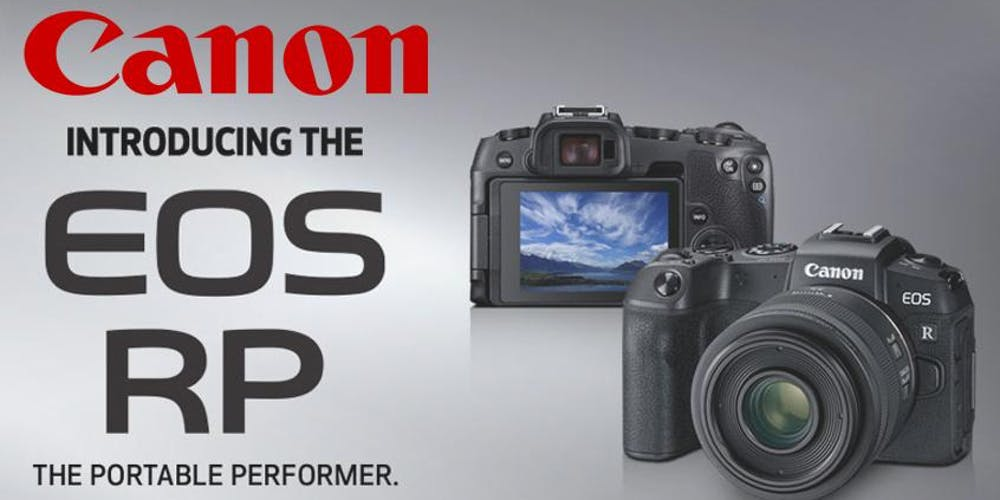 Canon Camera News 2019: Canon EOS R RF Camera | Lens Firmware Updates