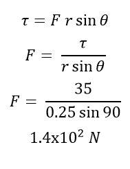 حل المسائل التدريبية لدرس ديناميكا الحركة الدورانية  > الجزء الأول <